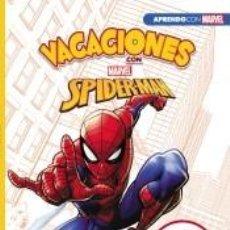 Libros: VACACIONES CON SPIDER-MAN (LIBRO EDUCATIVO MARVEL CON ACTIVIDADES): 7 AÑOS. Lote 206885756