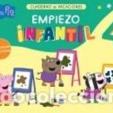 Libros: PEPPA PIG. CUADERNO DE VACACIONES: EMPIEZO INFANTIL 4 AÑOS. Lote 206960346