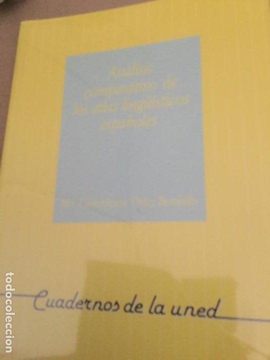ANALISIS COMPARATIVO DE LOS ATLAS LINGUISTICOS ESPAÑOLES-CONCEPCION ORTIZ BORDALLO-CUADERNOS UNED (Libros Nuevos - Libros de Texto - Ciclos Formativos - Grado Superior)