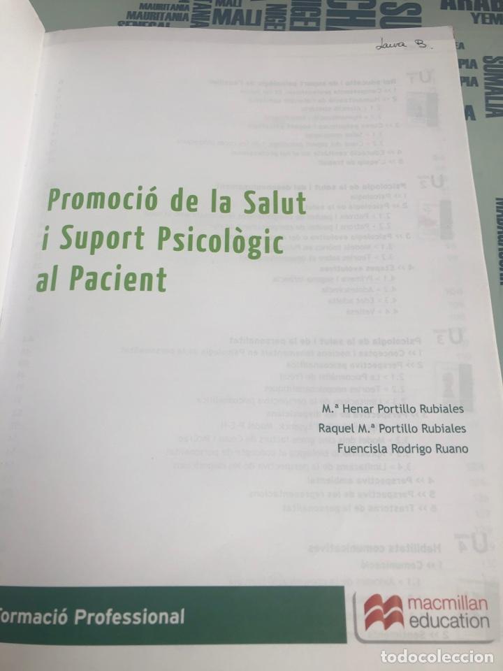 Libros: Promoció de la Salut i Suport Psicològic al Pacient - Foto 3 - 208376312
