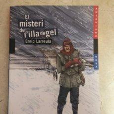 Libros: EL MISTERI DE L'ILLA DE GEL. Lote 208379552