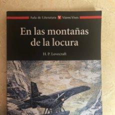 Libros: EN LAS MONTAÑAS DE LA LOCURA. Lote 208379662