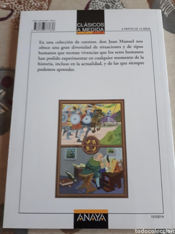 Libros: LIBRO.EL CONDE DE LUCANOR.CLASICOS A MEDIDA.ANAYA. ESO. LIBRO NUEVO.CON TEXTO E ILUSTRACIONES. - Foto 2 - 208444807