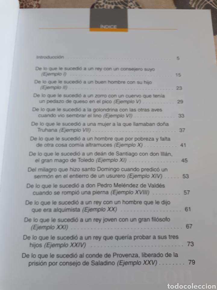 Libros: LIBRO.EL CONDE DE LUCANOR.CLASICOS A MEDIDA.ANAYA. ESO. LIBRO NUEVO.CON TEXTO E ILUSTRACIONES. - Foto 4 - 208444807