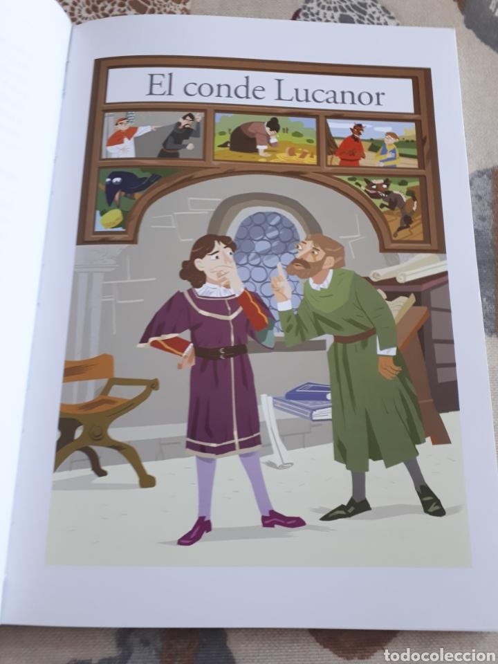 Libros: LIBRO.EL CONDE DE LUCANOR.CLASICOS A MEDIDA.ANAYA. ESO. LIBRO NUEVO.CON TEXTO E ILUSTRACIONES. - Foto 7 - 208444807