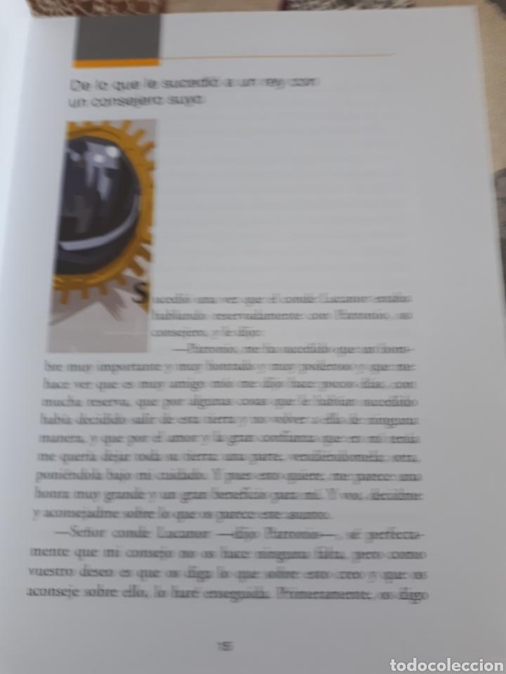 Libros: LIBRO.EL CONDE DE LUCANOR.CLASICOS A MEDIDA.ANAYA. ESO. LIBRO NUEVO.CON TEXTO E ILUSTRACIONES. - Foto 8 - 208444807