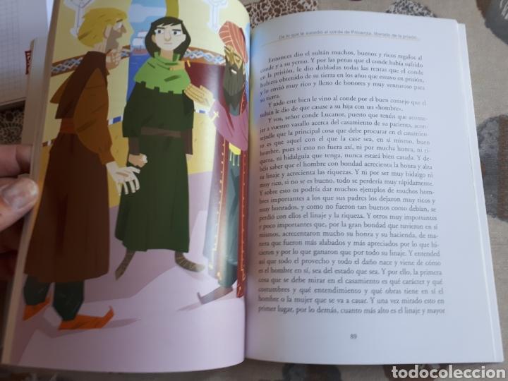 Libros: LIBRO.EL CONDE DE LUCANOR.CLASICOS A MEDIDA.ANAYA. ESO. LIBRO NUEVO.CON TEXTO E ILUSTRACIONES. - Foto 9 - 208444807
