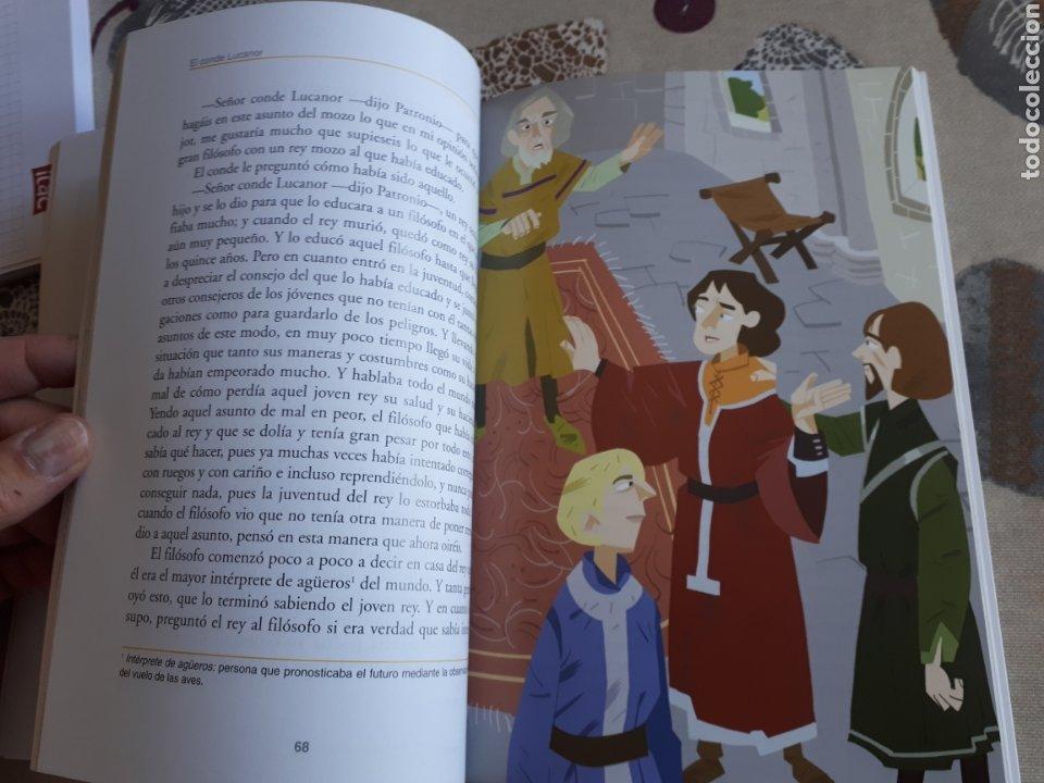 Libros: LIBRO.EL CONDE DE LUCANOR.CLASICOS A MEDIDA.ANAYA. ESO. LIBRO NUEVO.CON TEXTO E ILUSTRACIONES. - Foto 10 - 208444807