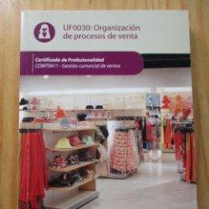 Libros: GESTIÓN COMERCIAL DE VENTAS - CERTIFICADO DE PROFESIONALIDAD LIBROS DE TEXTO. Lote 209839613