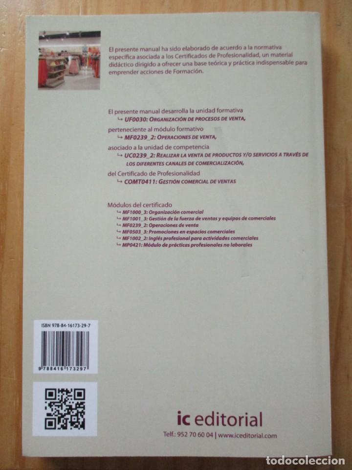 Libros: Gestión comercial de ventas - certificado de profesionalidad libros de texto - Foto 2 - 209839613