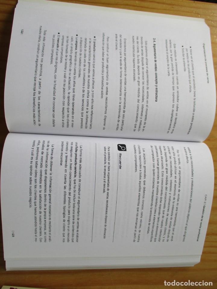 Libros: Gestión comercial de ventas - certificado de profesionalidad libros de texto - Foto 3 - 209839613