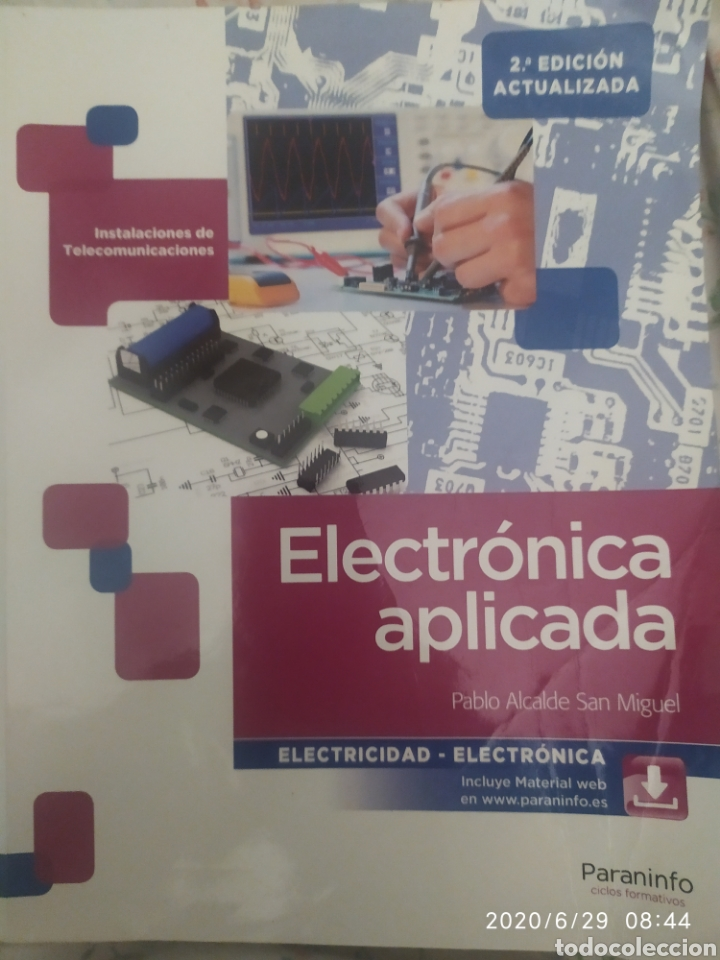 ELECTRÓNICA APLICADA (Libros Nuevos - Libros de Texto - Ciclos Formativos - Grado Superior)