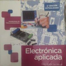 Libros: ELECTRÓNICA APLICADA. Lote 209893301