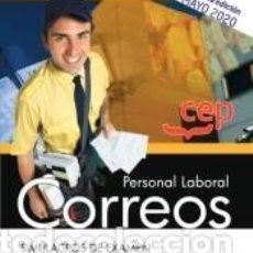 Libros: PERSONAL LABORAL. CORREOS. SIMULACROS DE EXAMEN. Lote 210193470