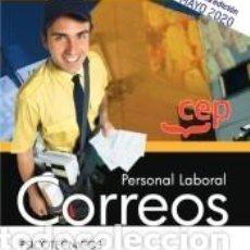 Libros: PERSONAL LABORAL. CORREOS. PSICOTÉCNICOS.. Lote 210193580