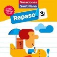 Libros: VACACIONES SANTILLANA 3º PRIMARIA. REPASO. Lote 210318260