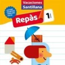Libros: VACACIONES SANTILLANA 1 PRIMARIA REPAS. Lote 210325837