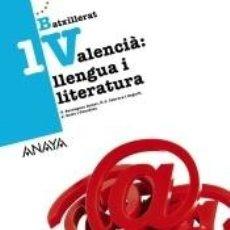 Libros: LLENGUA I LITERATURA 1. Lote 210729366