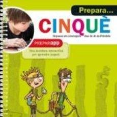 Libros: PREPARA... CINQUÈ. Lote 210748976