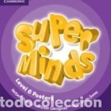 Libros: SUPER MINDS LEVEL 6 POSTERS (10). Lote 211394934
