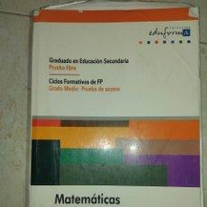 Libros: MATEMÁTICAS. Lote 211471461
