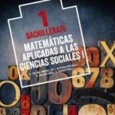 Libros: MATEMÁTICAS APLICADAS A LAS CIENCIAS SOCIALES I.. Lote 211642679