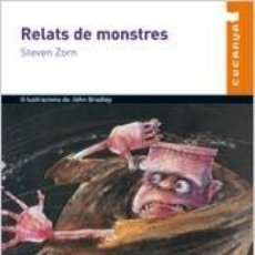 Libros: RELATS DE MONSTRES N/C. Lote 211657843