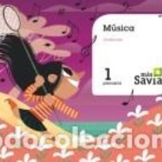Libros: MÚSICA. 1 PRIMARIA. MAS SAVIA. ANDALUCÍA. Lote 211663468
