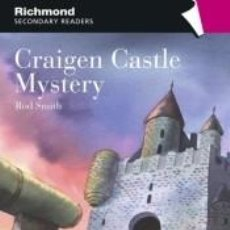 Libros: RICHMOND SECONDARY READERS CRAIGEN CASTLE MYSTERY LEVEL 2. Lote 211885098