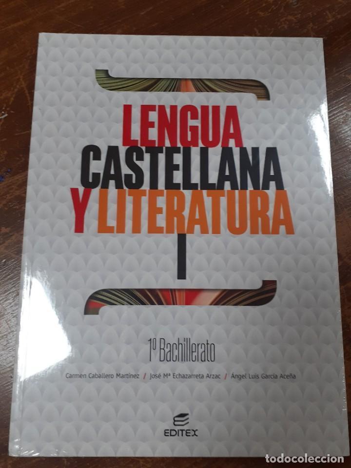 LENGUA CASTELLANA Y LITERATURA 1º BACHILLERATO EDITEX (Libros Nuevos - Libros de Texto - Bachillerato)