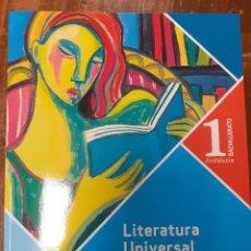 Libros: LITERATURA UNIVERSAL 1º BACHILERATO ANDALUCÍA ALGAIDA. Lote 213350678