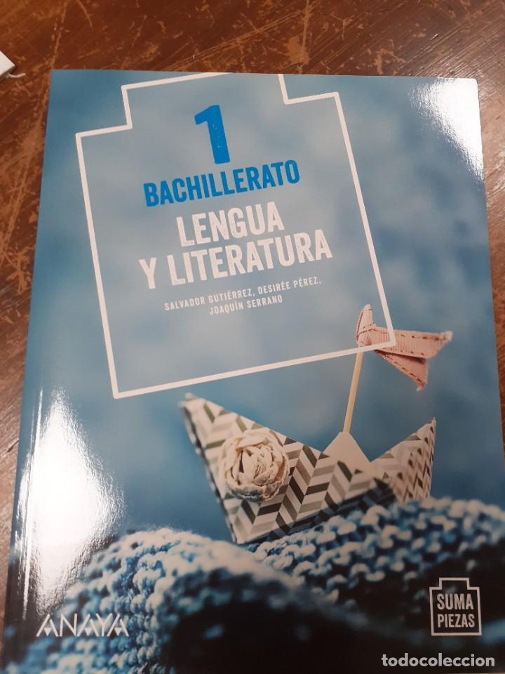 LENGUA Y LITERATURA 1 BACHILLERATO ANAYA (Libros Nuevos - Libros de Texto - Bachillerato)