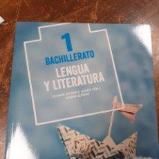 Libros: LENGUA Y LITERATURA 1 BACHILLERATO ANAYA. Lote 213350841