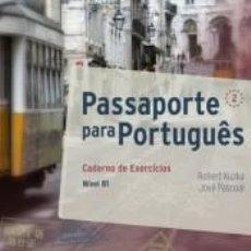 Libros: PASSAPORTE PARA PORTUGUÊS 2. CADERNO DE EXERCÍCIOS. Lote 214097641