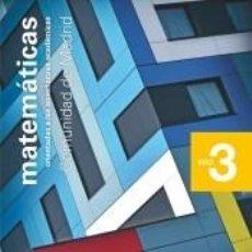 Libros: MATEMÁTICAS ORIENTADAS A LAS ENSEÑANZAS ACADÉMICAS. 3 ESO. SAVIA NUEVA GENERACIÓN. MADRID. Lote 214103358