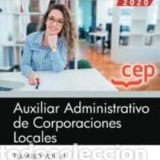 Libros: AUXILIAR ADMINISTRATIVO DE CORPORACIONES LOCALES. TEMARIO VOL. III.. Lote 214174926