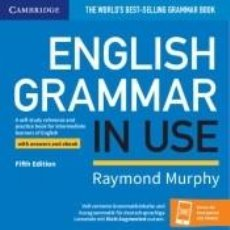 Libros: ENGLISH GRAMMAR IN USE FIFTH EDITION KLETT EDITION. BOOK WITH ANSWERS AND EBOOK AND AUGMENTED APP. Lote 214347322