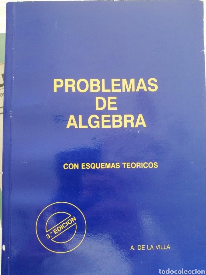 LIBRO ÁLGEBRA PROBLEMAS (Libros Nuevos - Libros de Texto - Ciclos Formativos - Grado Superior)
