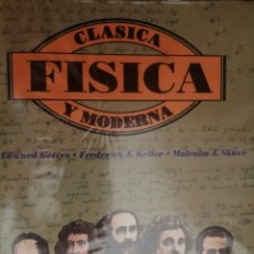 Libros: FISICA CLASICA Y MODERNA GETTYS. Lote 214399395