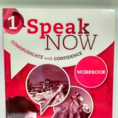 Libros: SPEAK NOW 1 A1 WORKBOOK. OXFORD 9780194030526 (LIBRO DE TEXTO INGLÉS). Lote 215571207