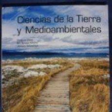 Libros: CIENCIAS DE LA TIERRA Y MEDIOAMBIENTE BACHILLERATO. Lote 217410537
