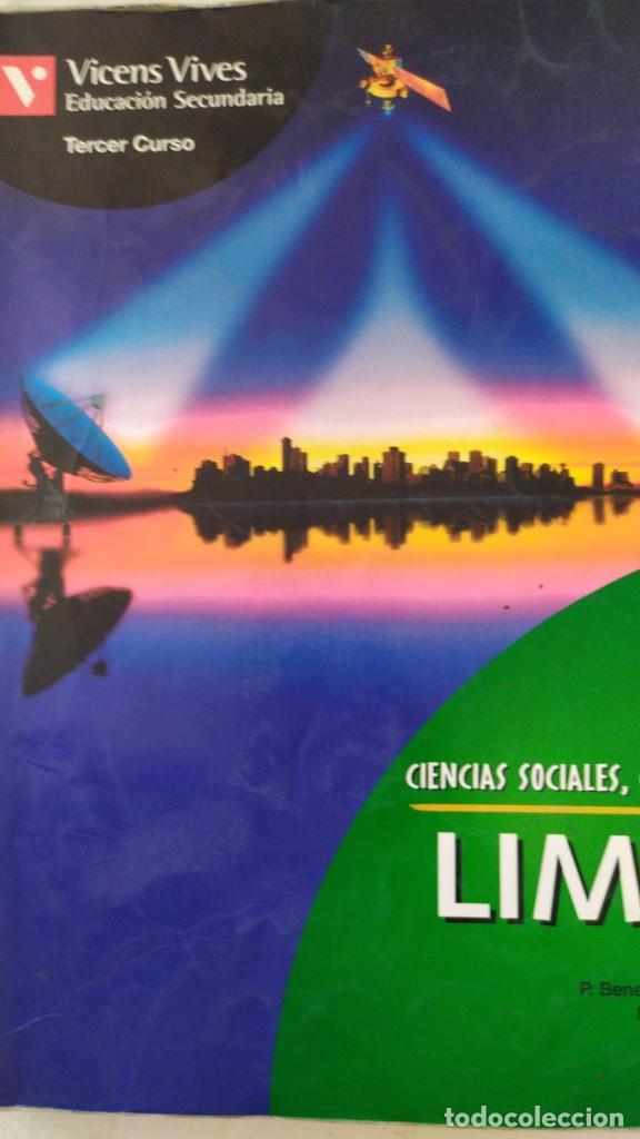 CIENCIAS SOCIALES GEOGRAFIA EDUCACION SECUNDARIA TERCER CURSO VICENS VIVES (Libros Nuevos - Libros de Texto - ESO)