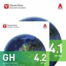 Libros: GEOGRAFIA I HISTORIA 4º ESO BIMESTRAL AULA 3D ED 2016 VALENCIA. Lote 217415596