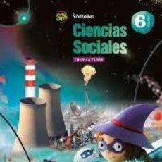 Libros: CIENCIAS SOCIALES, 6º PRIMARIA SANTIAGO RODRÍGUEZ RIVAROLA; MARIO .... Lote 217415948