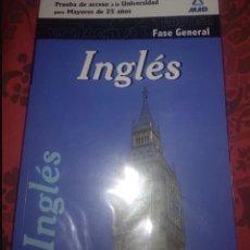 Libros: INGLES PRUEBA DE ACCESO UNIVERSIDAD MAYORES 25 NUEVO SIN USO. Lote 217453666