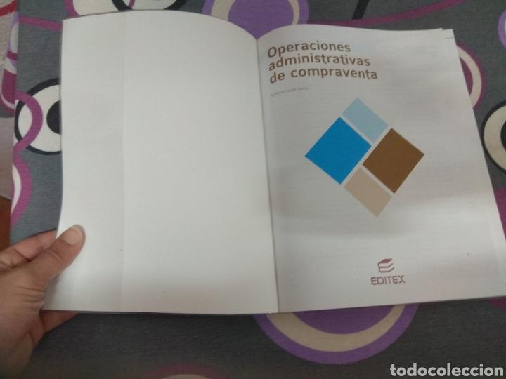 Libros: Operaciones administrativas de compraventa. Editex 2014. Administración y gestión - Foto 5 - 217560363
