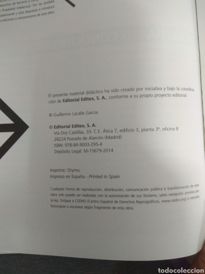Libros: Operaciones administrativas de compraventa. Editex 2014. Administración y gestión - Foto 8 - 217560363