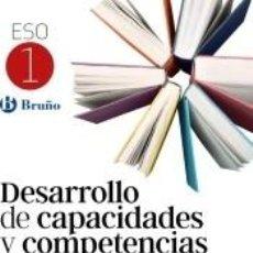 Libros: DESARROLLO DE CAPACIDADES Y COMPETENCIAS LECTORAS 1 ESO. Lote 217805303