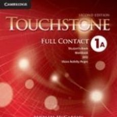 Libros: TOUCHSTONE LEVEL 1 FULL CONTACT A 2ND EDITION. Lote 217810141