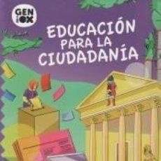 Libros: EDUCACIÓN PARA LA CIUDADANÍA 3º ESO. GENIOX LIBRO DEL ALUMNO (ANDALUCÍA). Lote 217880086
